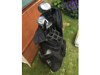 Golf bag and 4 clubs -NOW SOLD