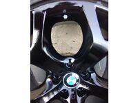 BMW GENUINE 20 INCH ALLOYS ALLOY WHEELS AND RUN FLAT TYRES