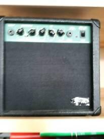 16w guitar practice amplifier REDUCED