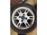 KA alloy wheels