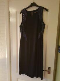 Ladies navy dress. Size 14.