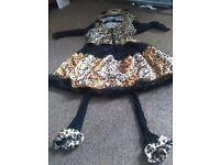 Girls fancy dress cat suit