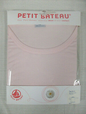 PETIT BATEAU Women's Pink LS T-Shirt 75547 Sz 18 Years L NEW $43