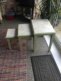 Nest of three tables