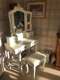 Re-pro ornate dressing table