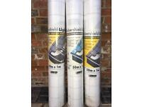 IKO Lightweight Breather Membrane For Roof Application, One Roll Left - 50m x 1m