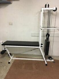 Powersport duel leg extension and hamstring curl machine