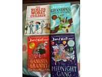 David Walliams books x4