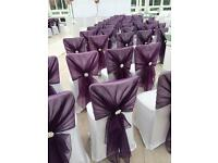 Wedding Chair Covers and Centrepieces