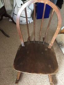 Child's Vintage Ercol rocking chair