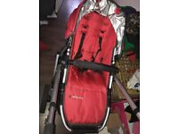 Uppababy Vista in great used condition and smoke free home.