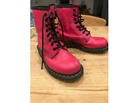 Doc Martins Pink Leather Size 4
