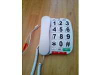 Opticom b300 big button telephone