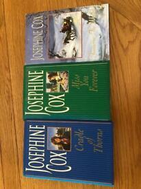 3 Josephine Cox novels