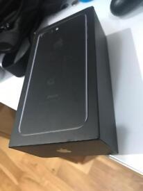 iPhone 7plus 128gb unlocked black