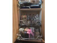 Large kitchen larder cupboard