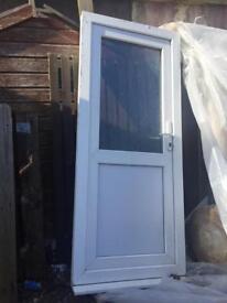 Upvc door with frame