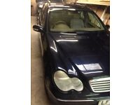 Selling my Mercedes C Class 270 as spares..