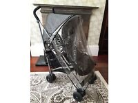 Maclaren Quest Single Seat Stroller with Foot Muff and Rain Cover