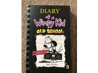 Range of diary of a wimpy kid books