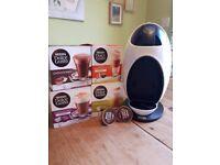 Coffee Machine (White) Nescafe Dolche Gusto EDG250 with coffee pods