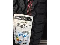 """265 65 17 general at3 tyre """"new"""""""