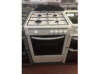 60CM WHITE SINGLE CAVITY GAS COOKER