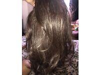 Raquel Welch brown wig