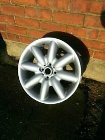 "Genuine BMW Mini Cooper S 17"" Alloy Wheel / R50 R52 R53 / Excellent Condition"