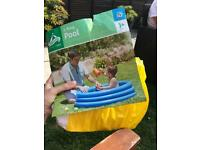 3ft 3 ring paddling pool!
