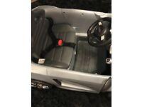 Child's Audi R8 Car Silver