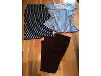LADIES SIZE 16 CLOTHES BUNDLE TOP SKIRT JEANS