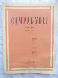 CAMPAGNOLI-Metodo-per-violino-parte-1-revisione-Enrico-Polo-ATTENZIONE-OSSERVA