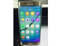 Samsung Galaxy S6 Edge 32gb GOLD Smart Mobile Phone - Unlocked used in good condition