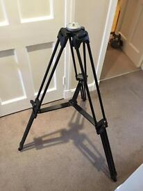 Glidetrack Pro Series 3-Sections Aluminum Tripod with 60MM Bowl, 55lbs Load Capacity