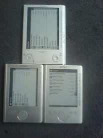 3 Sony eBook Readers