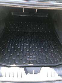 Genuine Jaguar XF rubber boot liner