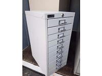 Office 10 drawer multi index cabinets / Metal 10 drawer industrial cabinet,
