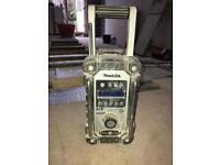 Makita BMR 104 DAB Site radio