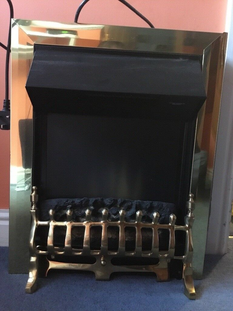 Electric fire, hardly used