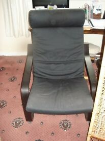 black chair classic ikea