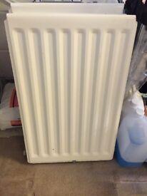 2 x small used working radiators