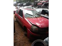 2004 renault clio 1.5 dci BREAKING FOR SPARE PARTS