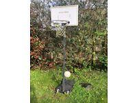 Free Standing Basketball Hoop Net Backboard Stand