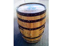 Oak Whisky Barrel Cabinets