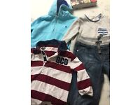 Boys bundle 2-3 50 pieces plus ; Jo jo Maman Bebe, gap, Zara, John Lewis, Ralph Lauren etc