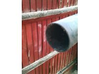 Priced Reduced for a 3rd time! - Grey PVC Pipe - 2 1/2 inch diameter x 4 metres long, Good Condition