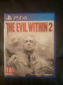 The Evil Within 2 PlayStation 4 game PS4