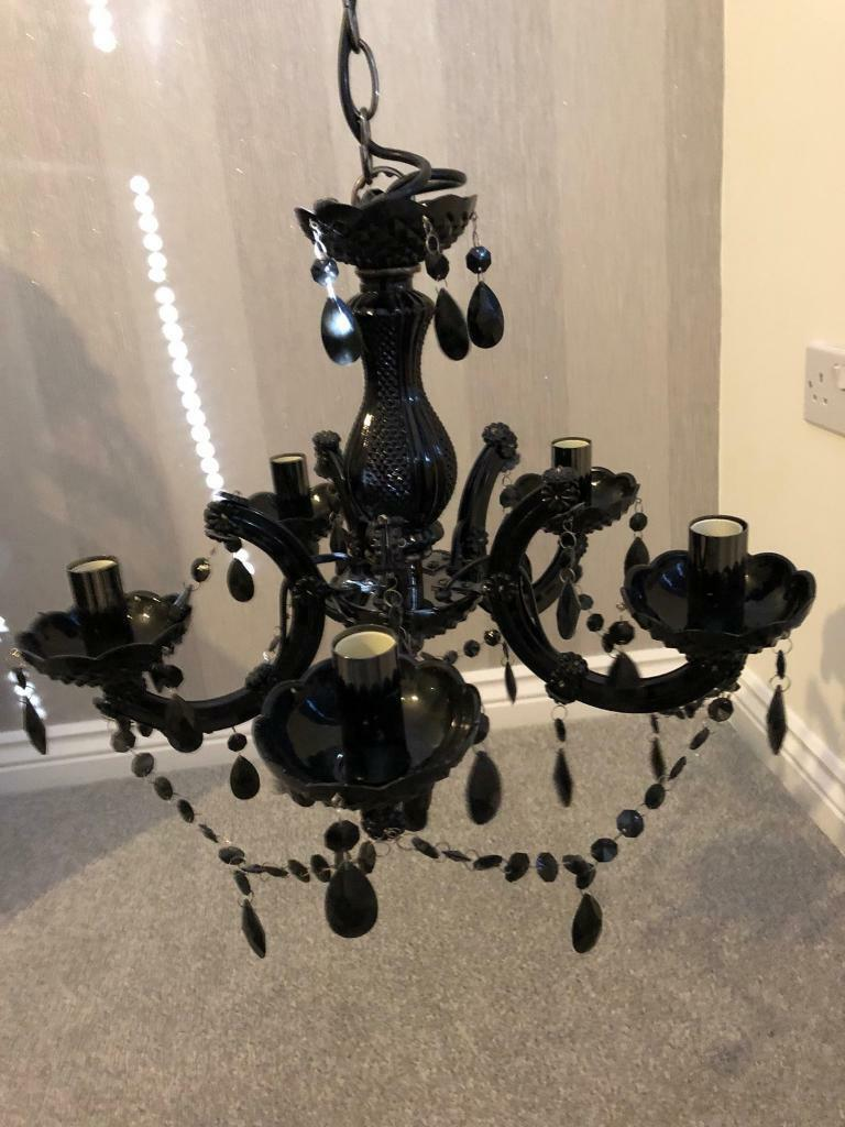 Argos black chandelier was 50 in trimdon station county durham argos black chandelier was 50 aloadofball Images