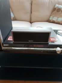 Sony 5.1 dvd home surround system & glass stand